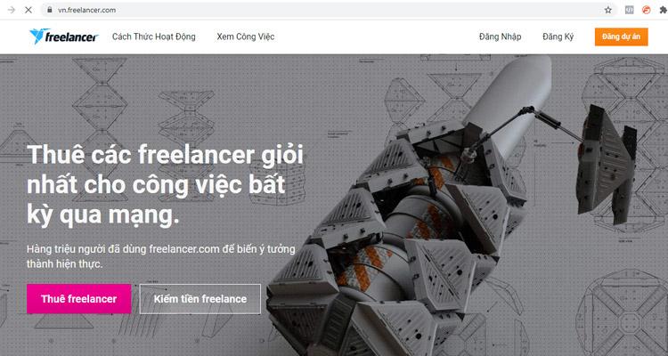 website freelance