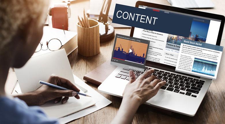 website có content chất lượng