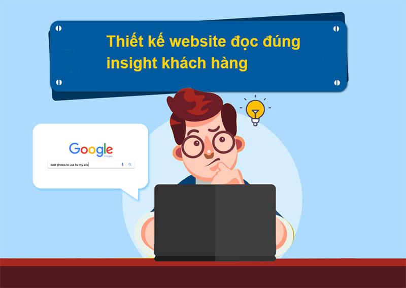 thiết kế website đọc vị khách hàng