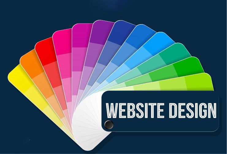 màu sắc phù hợp khi thiết kế web