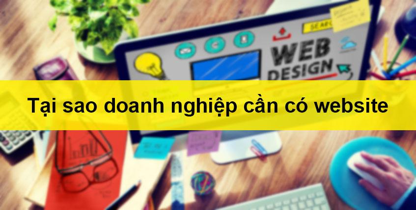 tại sao doanh nghiệp cần thiết kế website
