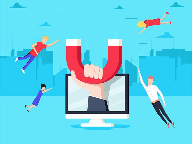 thu hút khách hàng website