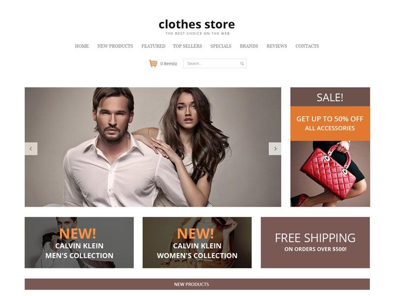 website lĩnh vực quần áo