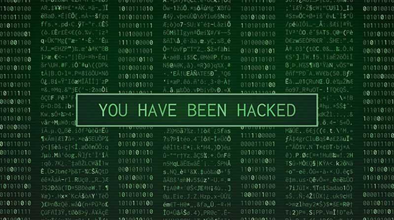 website bị hack