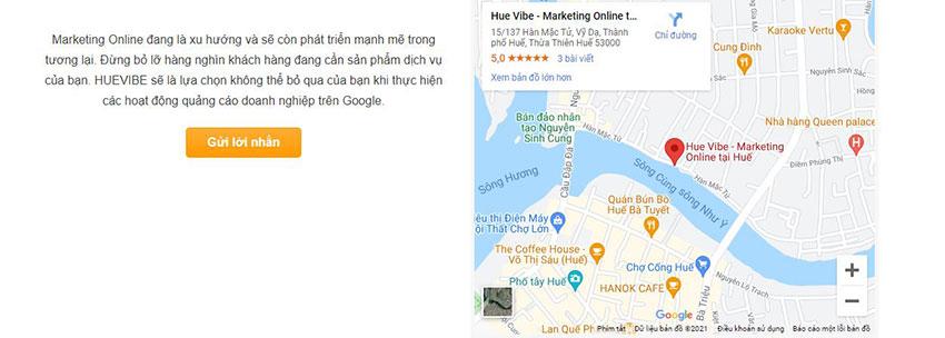 nhúng google maps